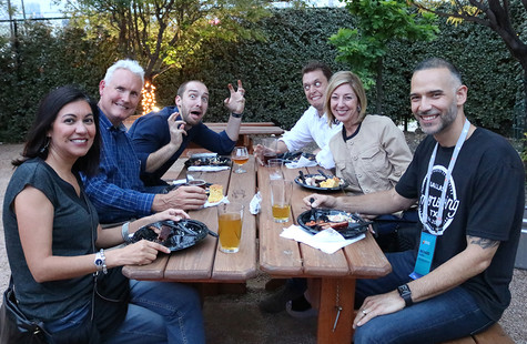 BBQ at Brewery